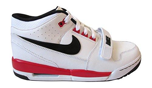 Nike Men's Jordan DNA Basketball Shoes, Black White Black University Red 106