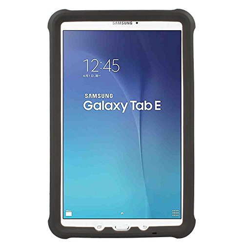 best website 3c831 169f9 TECHGEAR Bumper Case fits Samsung Galaxy Tab E 9.6 (SM-T560 Series) Rugged  Light Weight Shock Proof Soft Silicone Protective Easy Grip Case + Screen  ...