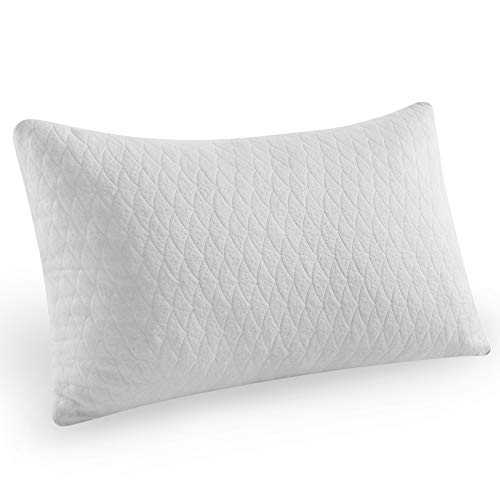 Premium Adjustable Shredded Memory Foam Bed Pillow - Queen Pillow 20