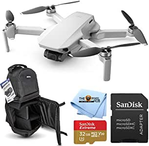DJI Mavic Mini Portable Drone Quadcopter Essential KIT with 32GB MicroSD and Sling Backpack