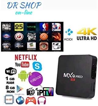 TV Box Android mxq Pro 4 K Smart IPTV OR7 pentacore 64 bit WiFi RAM 8 GB Mini PC: Amazon.es: Electrónica