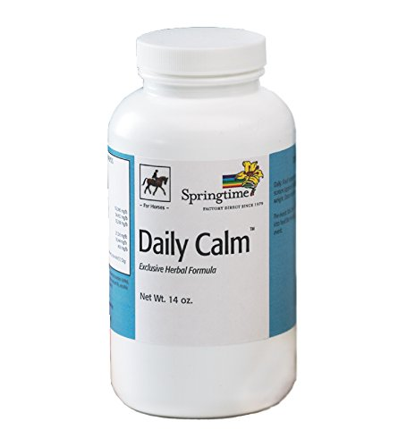 Springtime Daily Calm for Horses - 14 oz. - A Natural, Non-sedating Supplement That Helps Horses Manage Nervousness, Stress, and Anxiety. by Springtime (Image #4)