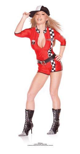 Playboy Racy Racer Adult Costume - Small