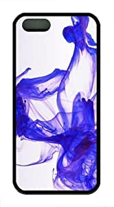 Abstract Blue Smoke pc hard Case Cover for iPhone 6 4.7 and iPhone 6 4.7 Black