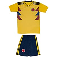 AMDS Soccer Youth Jersey Set ● Colombia ● Home Edition ●...