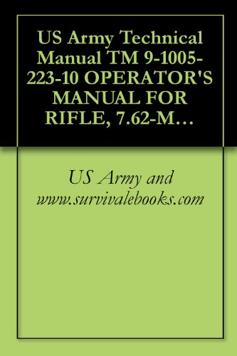 US Army Technical Manual TM 9-1005-223-10 OPERATOR'S MANUAL FOR RIFLE, 7.62-MM, M14, W/E, (1005589-1 271), RIFLE, 7.62-MM, M14A1, W/E, (1005-072-501 1), BIPOD, RIFLE, M2, (1005-711-6202), 1972