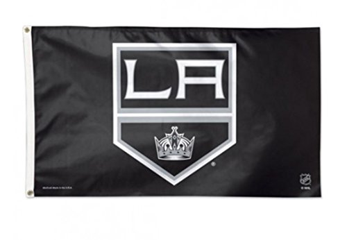 NHL Los Angeles Kings Deluxe 3'x5' Premium Fabric Flag with Grommets