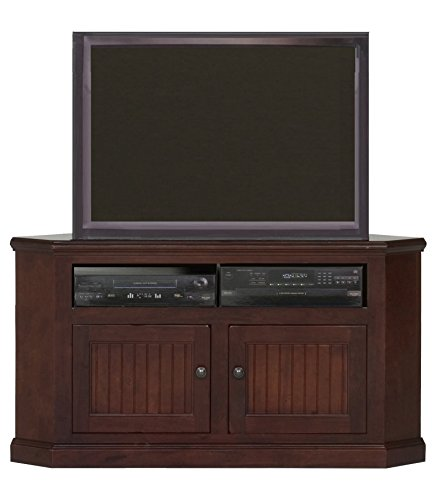 "Eagle Coastal Corner TV Cart, 50"", Caribbean Rum Finish"