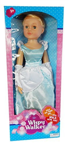 Wispy Walker 27 Walking Doll - Cinderella by Uneeda
