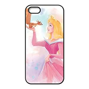 iPhone 5 5s Cell Phone Case Covers Black Sleeping Beauty trlk