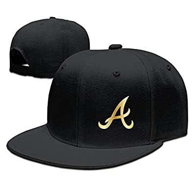 New Golden Collection Atlanta Braves ATL The Bravos Logo Snapback Flatbrim Cap