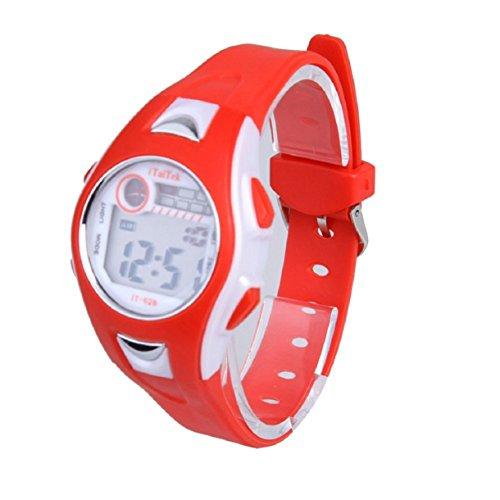 Price comparison product image LookatooL Children Boys Girls Swimming Sports Digital Wrist Watch Waterproof