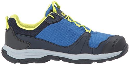Jack Wolfskin Akka Texapore B wasserdicht, Zapatos de Low Rise Senderismo Para Niños Azul (Vibrant Blue)