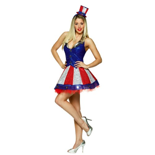 Aunt Samantha Costume 4-10 (Childrens Silver Star Costume)