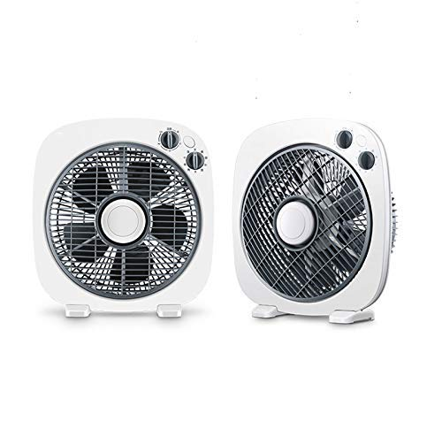 Gelaiken Desktop Fan Home Fan Desktop Fan Home Turn Fan Office Light Tone Fortune Student Fan Dormitory Mini Table Fan Table Desk Fan for Home and Travel by Gelaiken (Image #2)