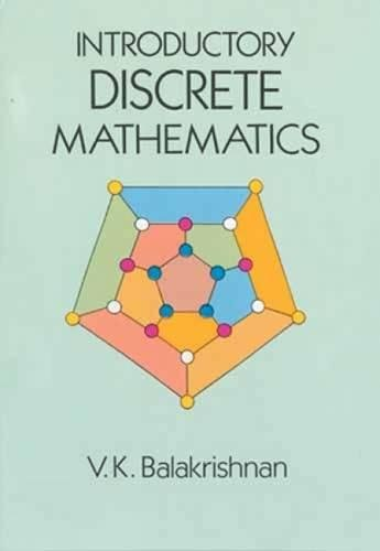 Introductory Discrete Mathematics (Dover Books on Computer Science) [V. K . Balakrishnan] (Tapa Blanda)