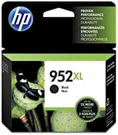 HP 952XL Black High Yield Original Ink Cartridge (F6U19AN) for HP OfficeJet Pro 7740 8702 8710 8715 8720 8725 8730 8740