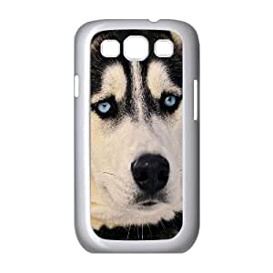 QSWHXN Phone Case Cute Dog Hard Back Case Cover For Samsung Galaxy S3 I9300