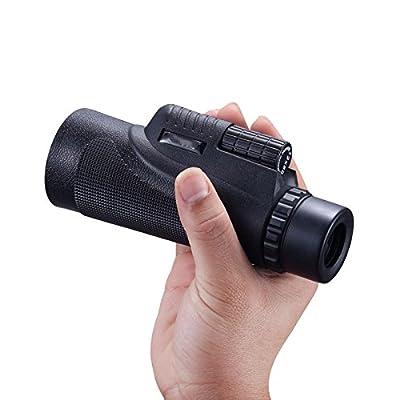 12X50 Télescope Monoculaire Haute Puissance Haute Définition Voyage en Plein Air Télescope Portatif