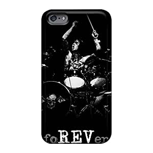 Iphonecase88 Apple Iphone 6s Shock Absorbent Cell-phone Hard Cover Customized Trendy Avenged Sevenfold Series [Gac198vCTr]