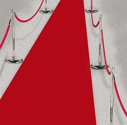 Hollywood Red Floor Runner]()