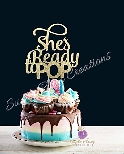 Baby Shower Cake Pops (She's Ready To Pop Cake)
