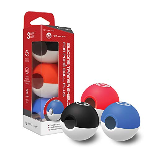 (Hyperkin Silicone Trainer Shields for Poké Ball Plus (3-Pack))