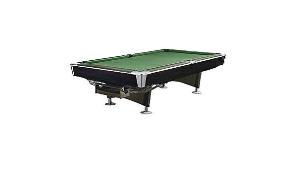 Mesa de Billar Feel Comfort Georgia 8 FT (Verde/Negro) Pool Snooker Pizarra Incluye Juego de Accesorios: Amazon.es: Deportes y aire libre
