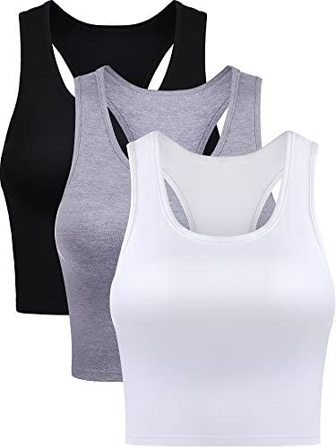 Boao Pieces Sleeveless Racerback Wearing product image