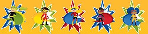 Carson Dellosa Super Power Super Kids Straight Borders (108239)