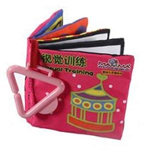 SODIAL(R) Livre tissu bebe enfant intelligence cognitive education peinture jouet 1