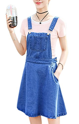 Womens Casual Suspender Skirt Overall