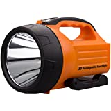 WASING CREE 10W 1000 Lumens Super Bright Rechargeable LED Searchlight (4 levels lighting)