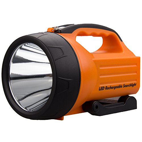 WASING 10 Watt 1000 Lumens LED Rechargeable Spotlight -