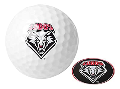 NCAA New Mexico Lobos - Golf Ball One Pack with Marker