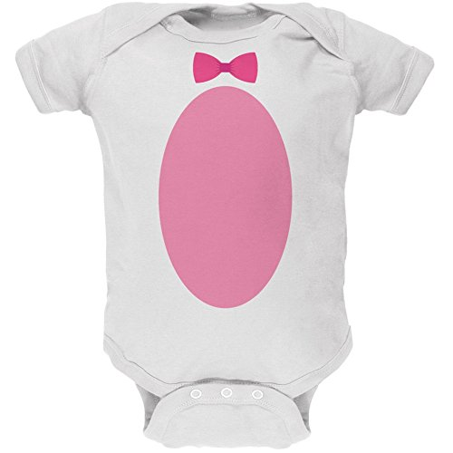 [Easter - Bunny Costume White Soft Baby One Piece - 18 month] (Energizer Bunny Costumes)