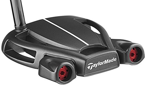 TaylorMade 2018 Spider Tour Black Putter (Double Bend, Right Hand, 34 Inches, with Sightline)