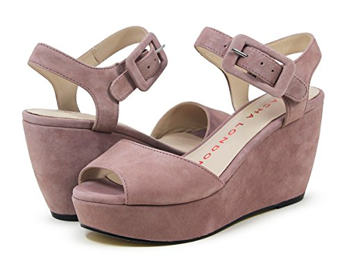 Sacha London Otelo Blush Kid Suede Sandal for sale  Delivered anywhere in USA