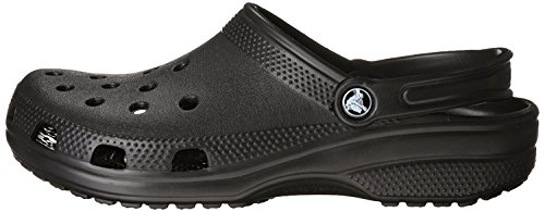 Crocs Unisex Classic Clog, Black, 8 US Men / 10 US Women by Crocs