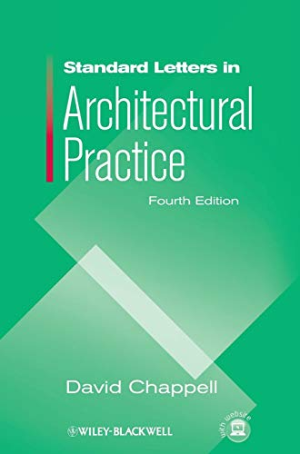 (Standard Letters in Architectural Practice)
