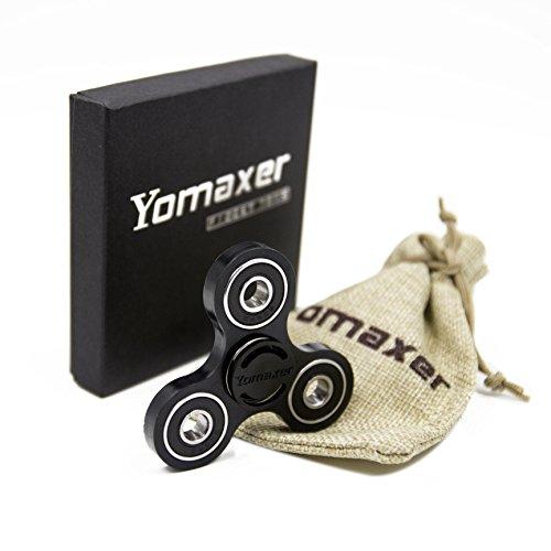 Yomaxer Tri-Spinner Fidget Toy Nylon PA Material Hybrid Si3N4 Ceramic Bearing Good for ADHD EDC Hand Killing Time