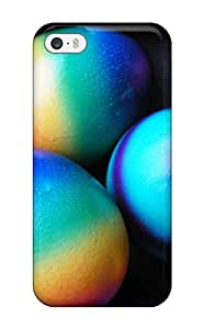Hot Tpu Cover Case For Iphone/ 5/5s Case Cover Skin - Colorful Easter Eggs