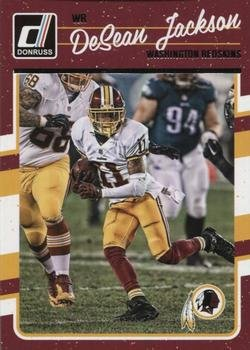 2016 Donruss  295 DeSean Jackson - Washington Redskins (NFL Football Card) 18d30c745