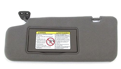 Genuine Nissan (96401-CA01A) Sun Visor Assembly, Gray
