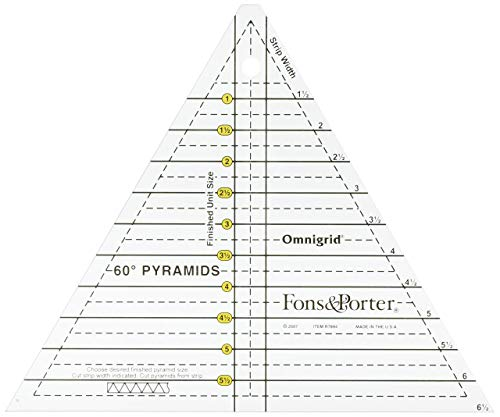 Fons & Porter R7894 Pyramid Ruler