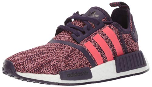 e4346be0a adidas Originals Unisex NMD R1 Running Shoe Legend Purple Shock red Black 6  M US
