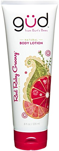 (Gud Natural Body Lotion Red Ruby Groovy Grapefruit & Thyme 8fl oz.)