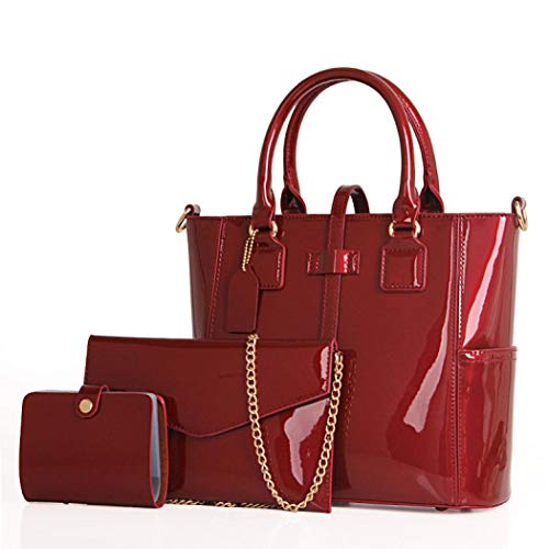 Mangetal, Borsa a mano donna Wine Red Color taglia unica Wine Red Color