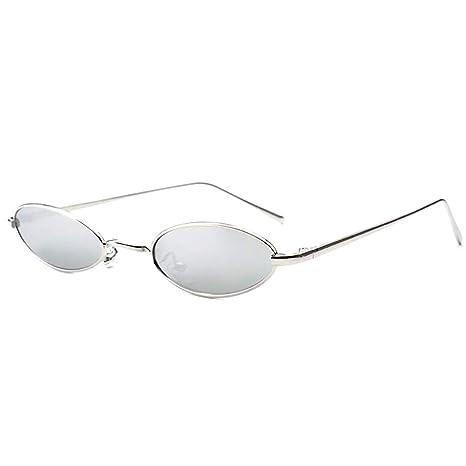 Ljwjialo Vendimia Gafas ovaladas Estilo Steampunk Gafas ...