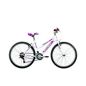 "Mountain Bike da Donna Atala Sunrise 2017 18V 26"" Bianco/Fuxia"
